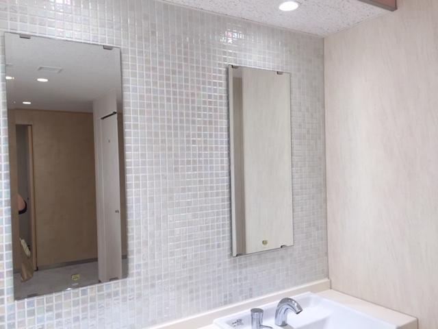 トイレのタイルにうっとり